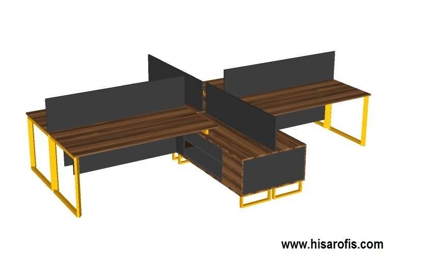 demo dörtlü masa